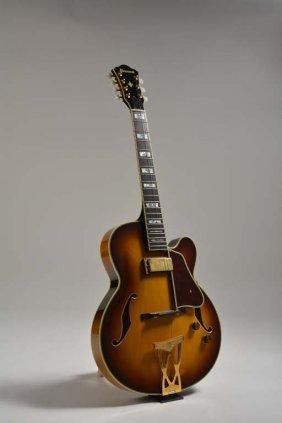 1997 Ibanez Af-207 7-string Sunburst, Robert Yelin