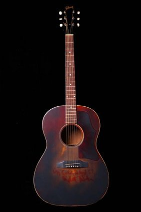 1966 Gibson Lg-1 & Continental Music Company Guitars,