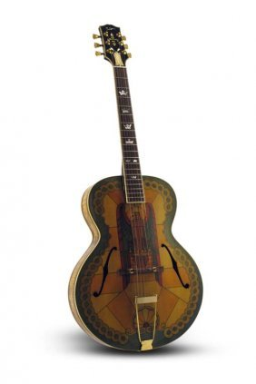 """2001 Gibson Custom Shop """"stained Glass"""""""