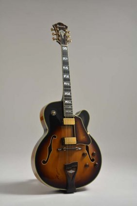 1999 Ibanez George Benson Gb200, Signed By George