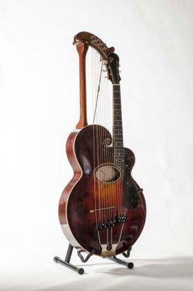 1915 Gibson Style U Harp Guitar