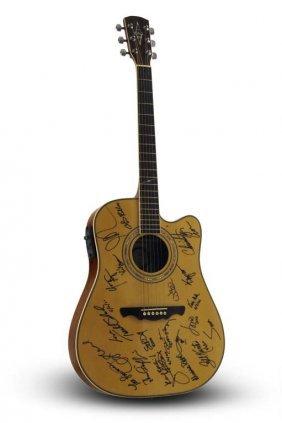 Signed Alvarez Acoustic-electric Vh1 Honors Guitar