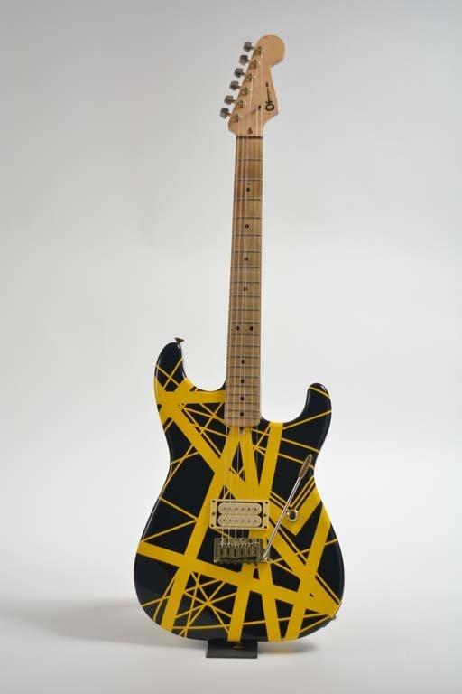 Eddie Van Halen's 1982 Charvel Guitar