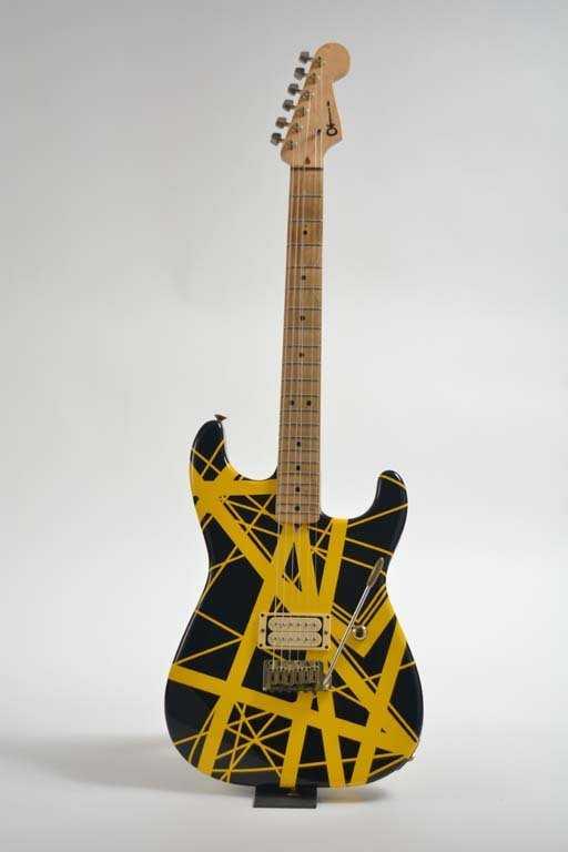 Eddie Van Halens 1982 Charvel Guitar