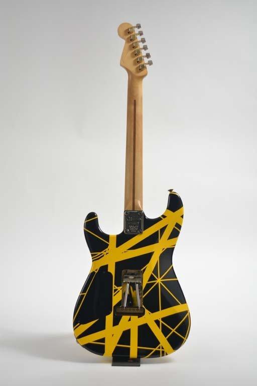 Eddie Van Halen's 1982 Charvel Guitar - 2