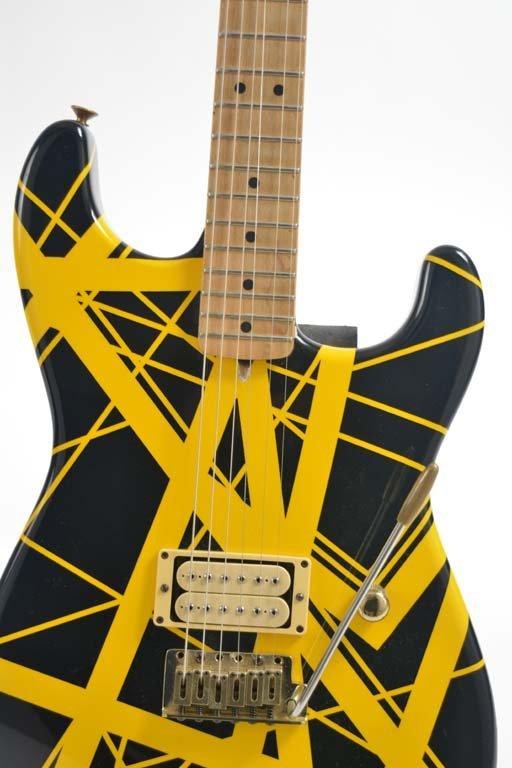 Eddie Van Halen's 1982 Charvel Guitar - 3
