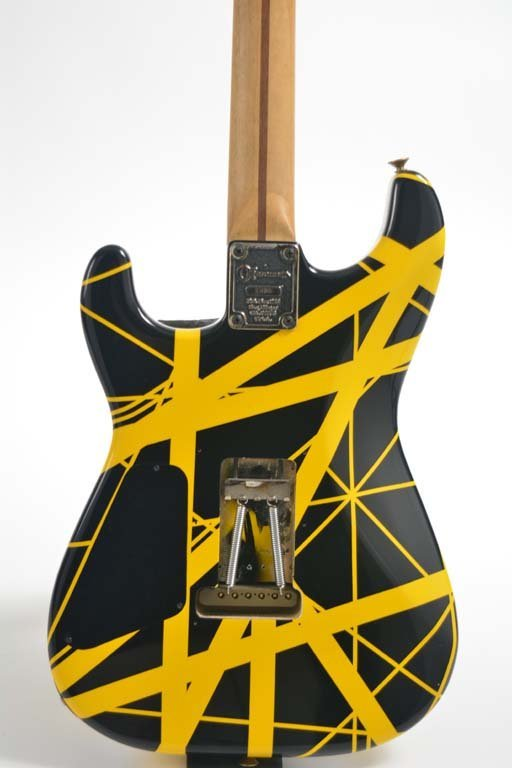 Eddie Van Halen's 1982 Charvel Guitar - 4