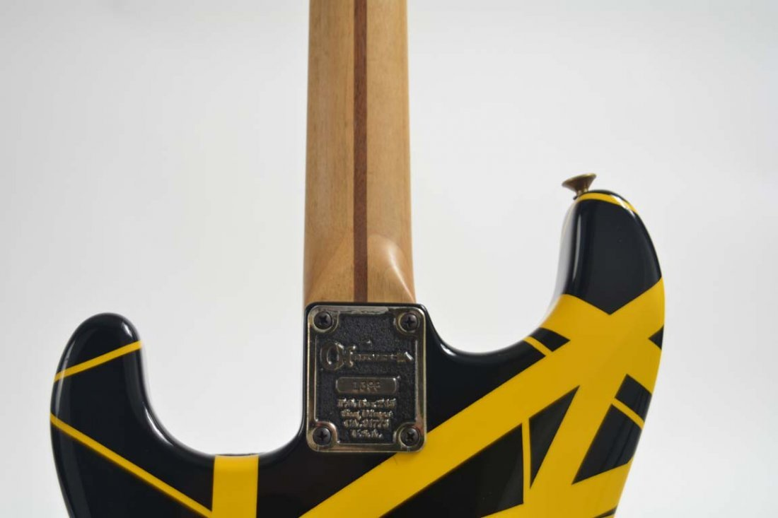 Eddie Van Halen's 1982 Charvel Guitar - 5