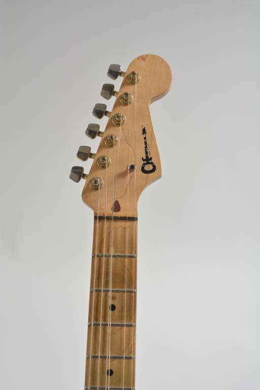 Eddie Van Halen's 1982 Charvel Guitar - 6