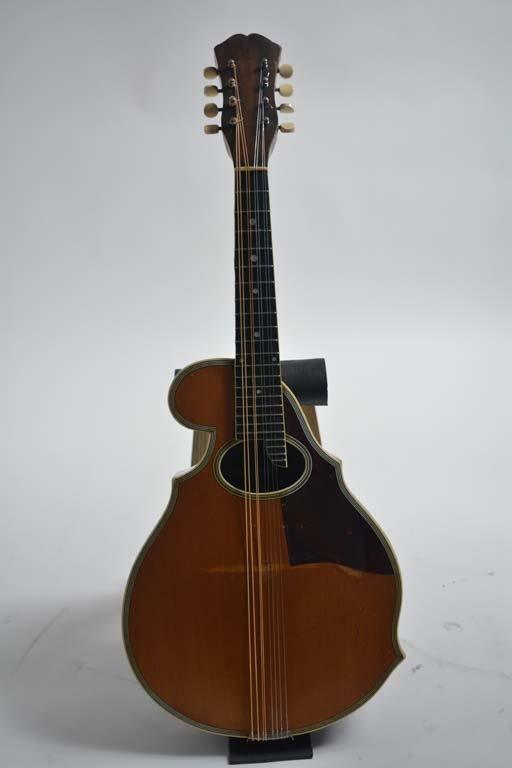 c. 1935 Wm. C. Stahl Mandolin with Three-Point Scroll B