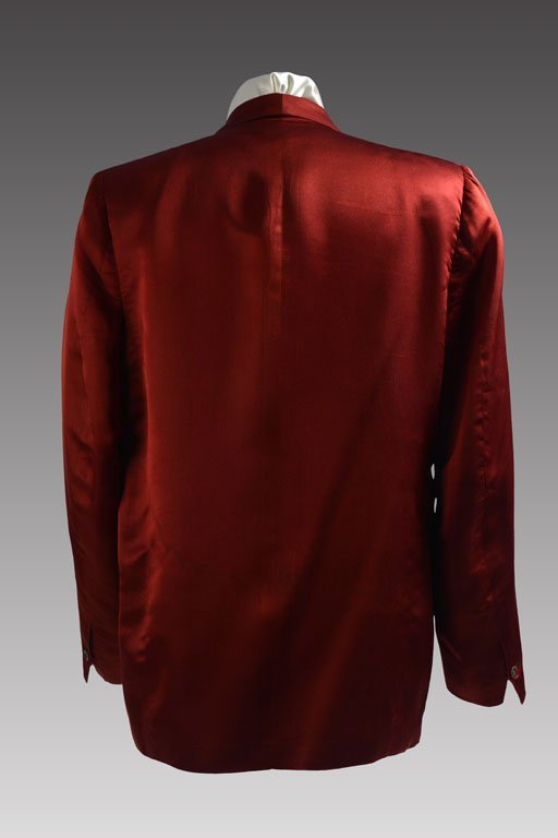 Red Silk Jacket - 2
