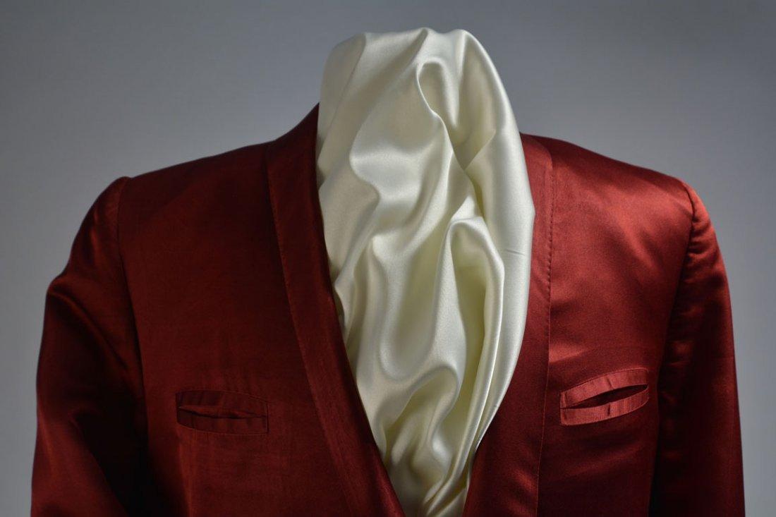 Red Silk Jacket - 3