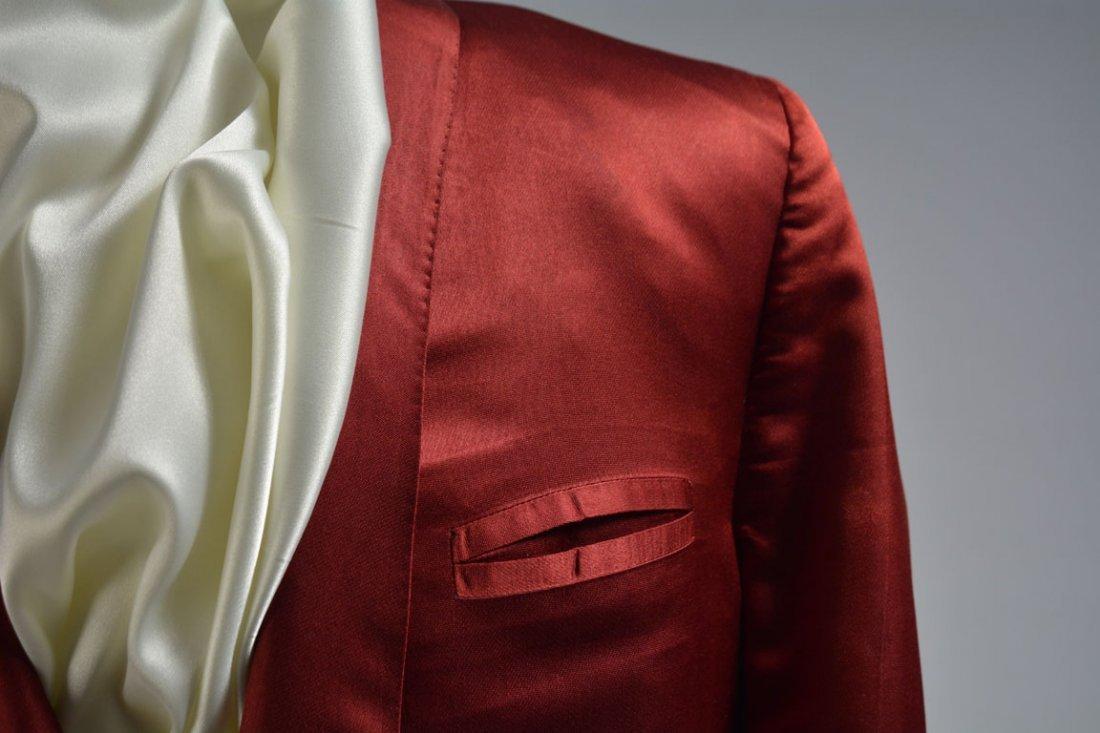 Red Silk Jacket - 4