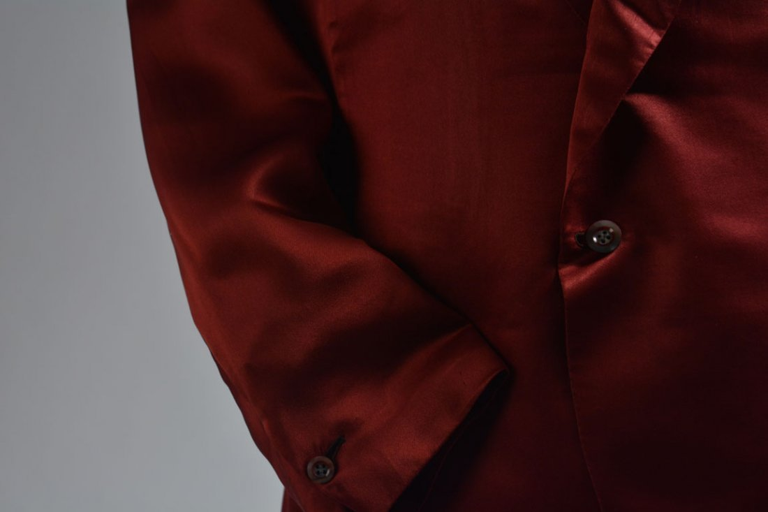 Red Silk Jacket - 5