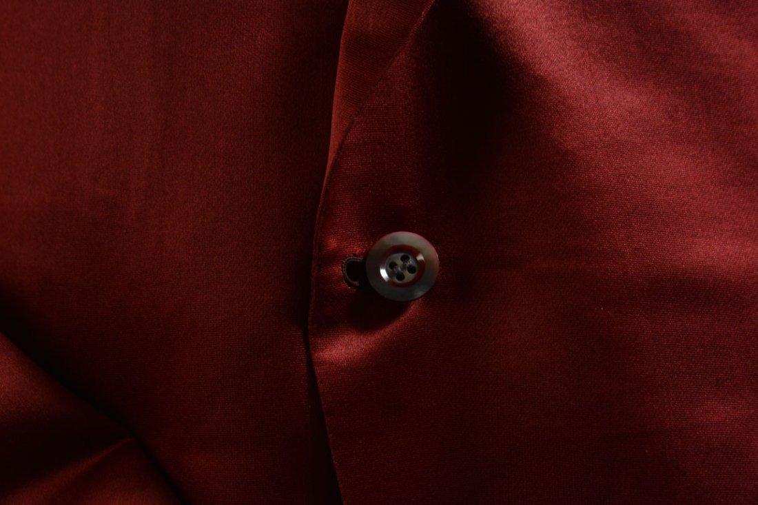 Red Silk Jacket - 7