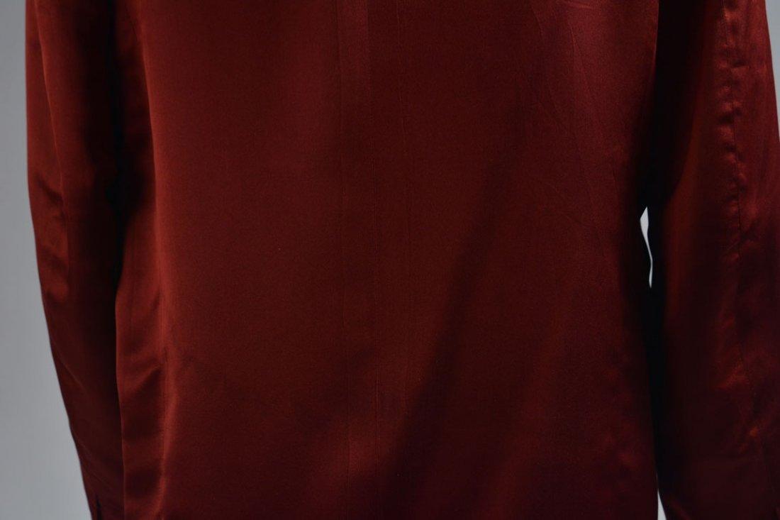 Red Silk Jacket - 8