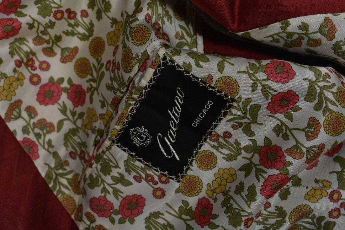 Red Silk Jacket - 9