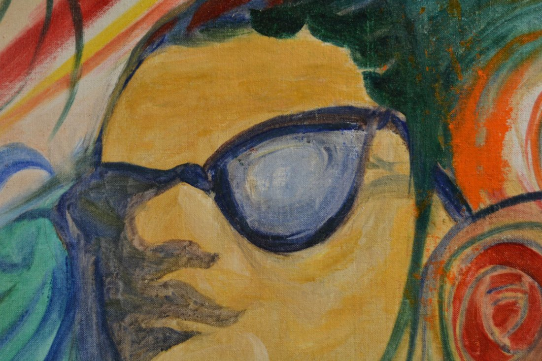 A Portrait of Billy Strayhorn, Painting by Duke - 5