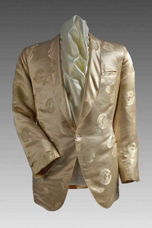 Cream-colored Silk Performance Jacket