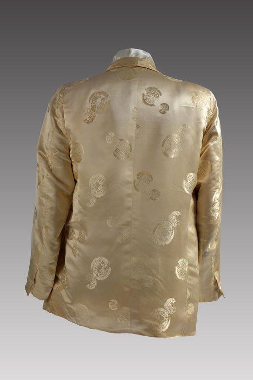 Cream-colored Silk Performance Jacket - 2