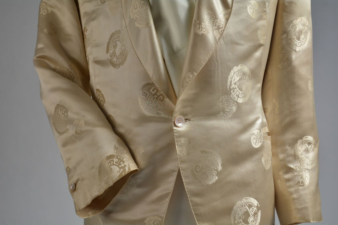 Cream-colored Silk Performance Jacket - 5