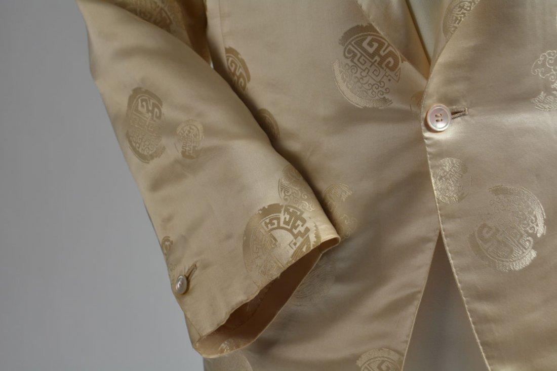Cream-colored Silk Performance Jacket - 6
