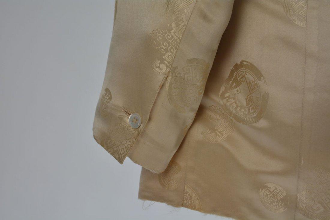 Cream-colored Silk Performance Jacket - 7