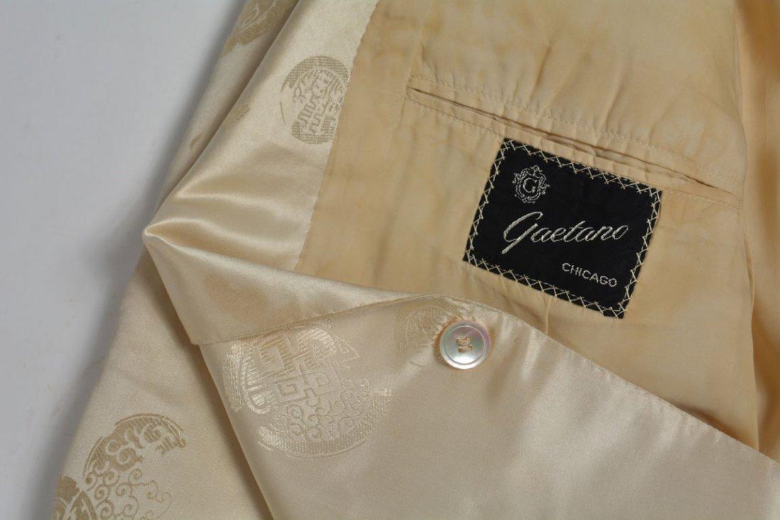 Cream-colored Silk Performance Jacket - 9
