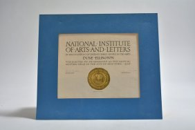 National Institute Of Arts & Letters Membership