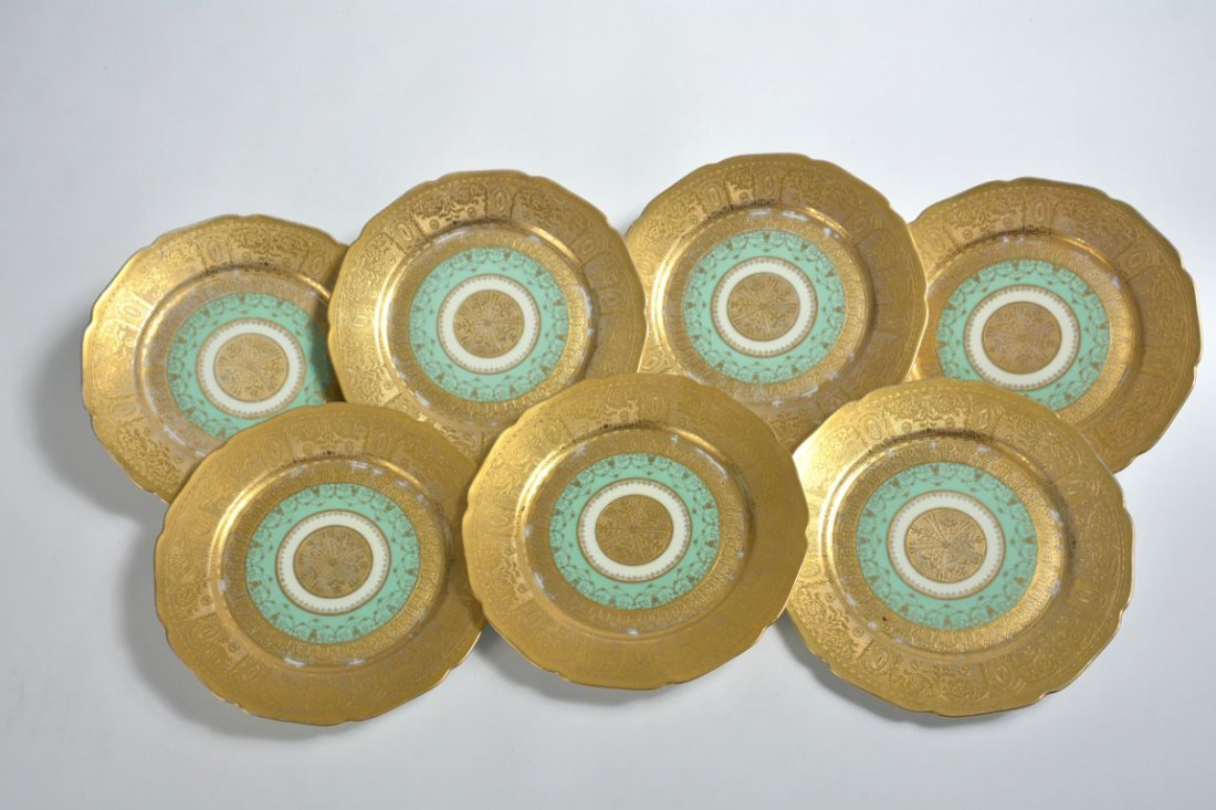 Gold Bohemia Dinner Plates