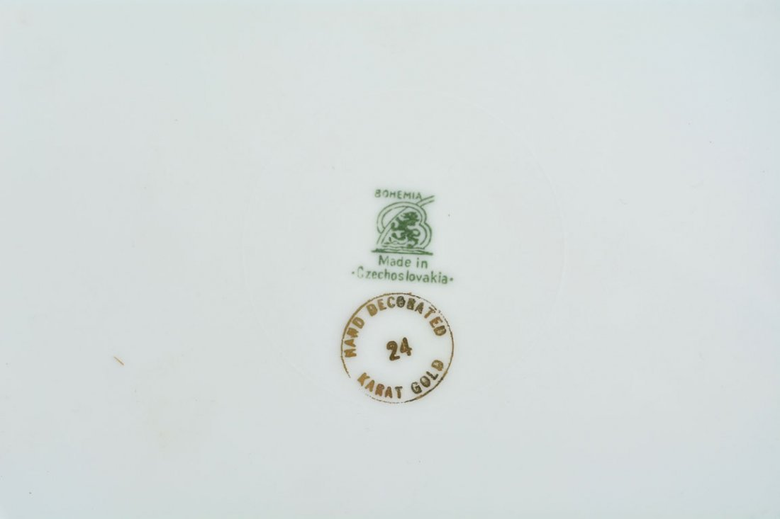 Gold Bohemia Dinner Plates - 4