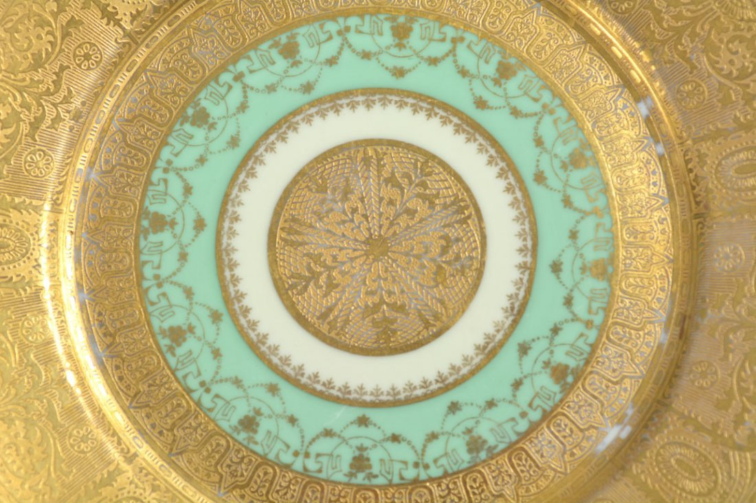 Gold Bohemia Dinner Plates - 5