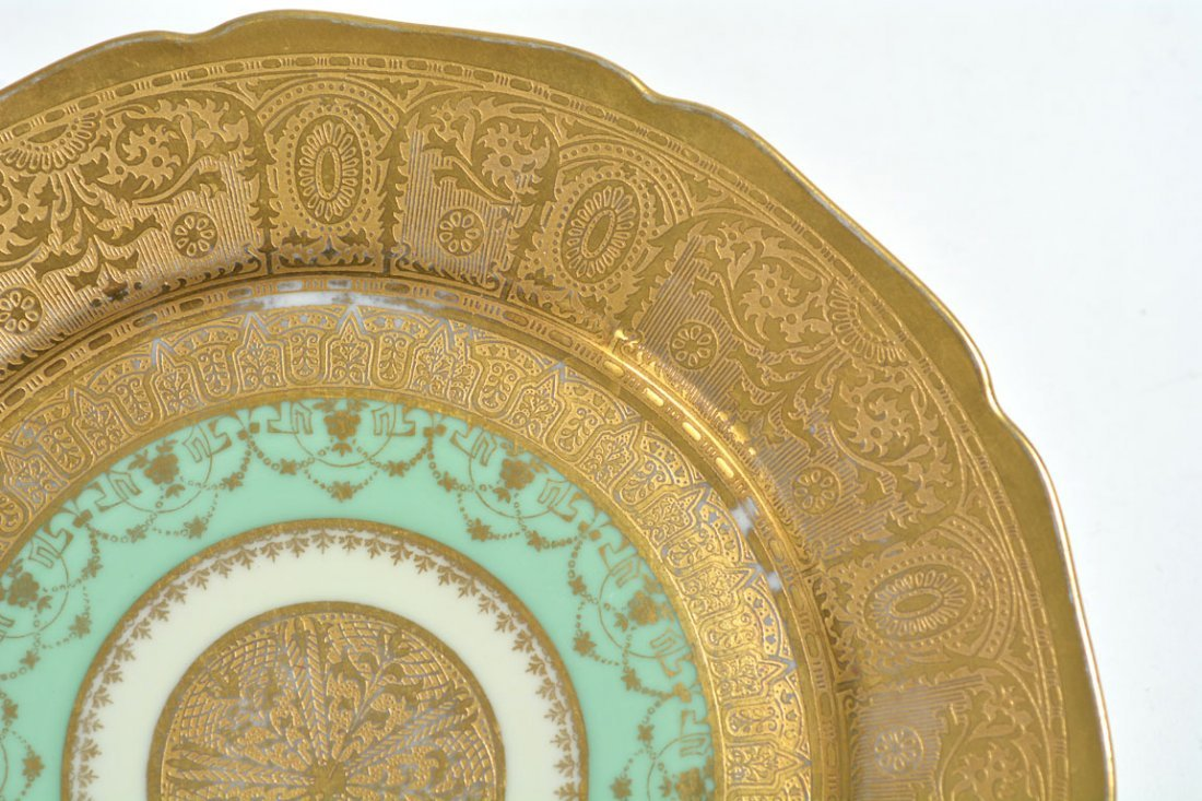 Gold Bohemia Dinner Plates - 6