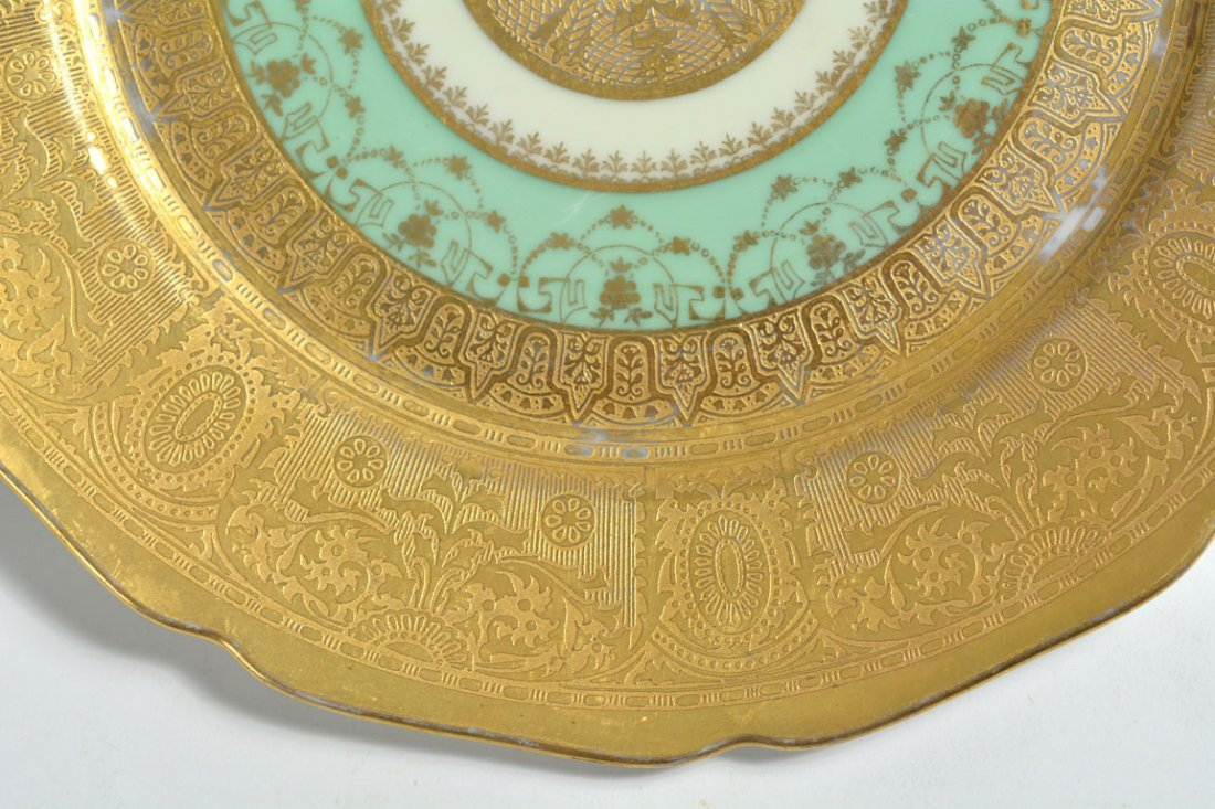 Gold Bohemia Dinner Plates - 8