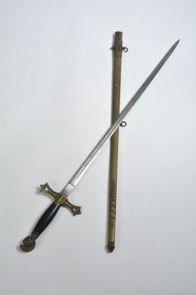 Masonic Knight Templar Sword- An Ellington Family