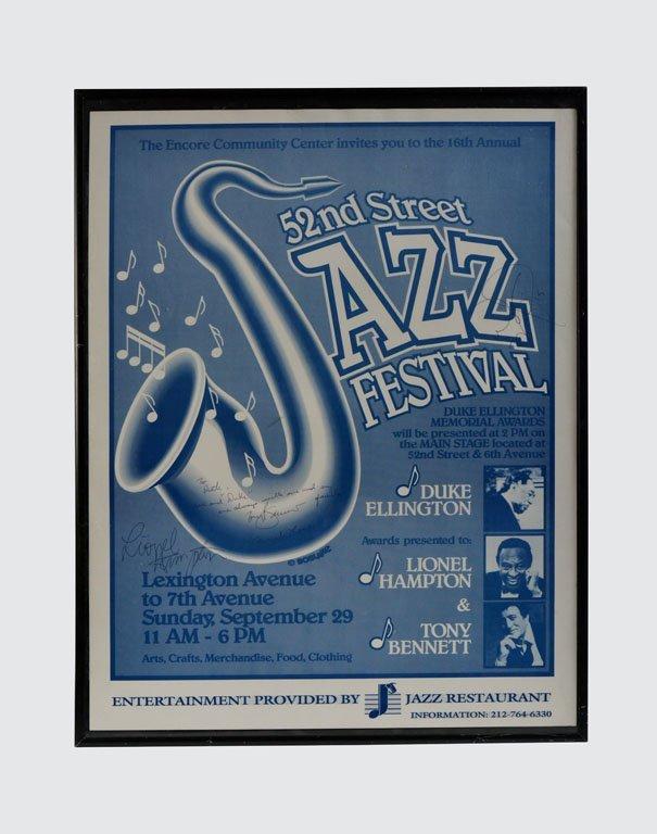 52nd Street Jazz Festival Poster