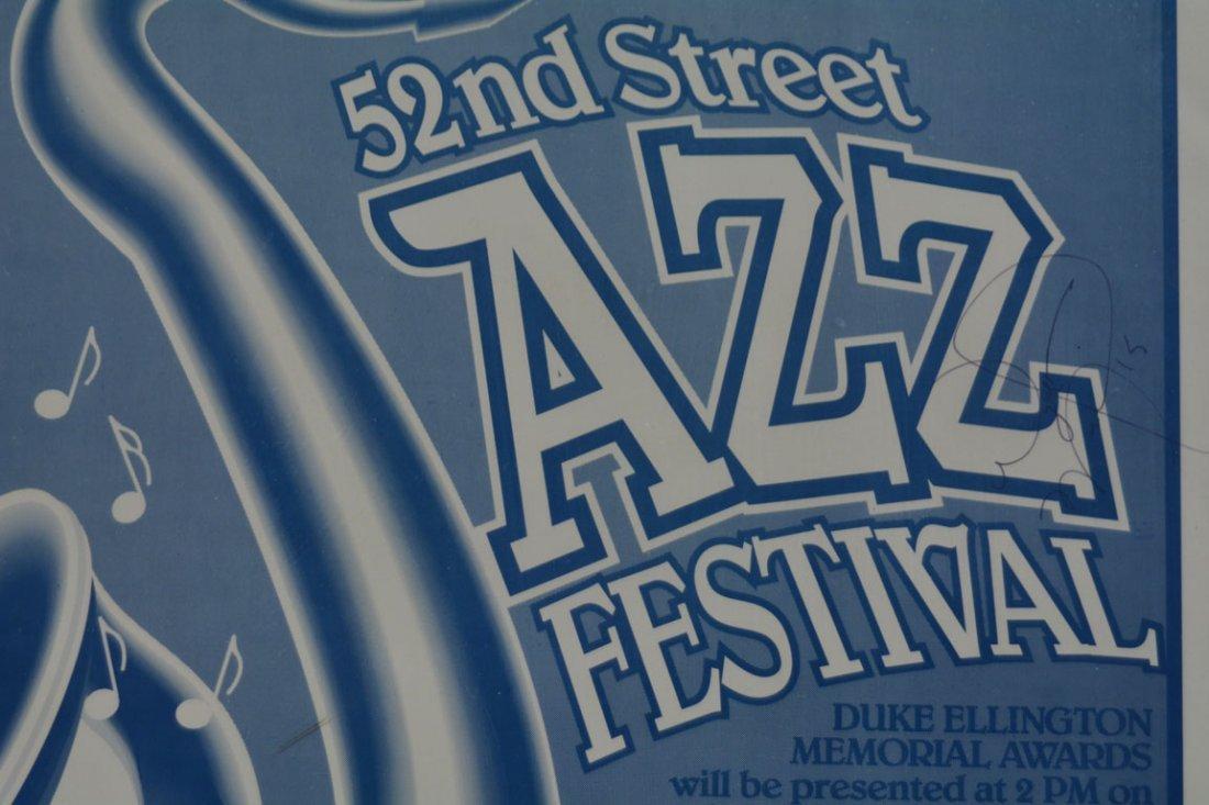 52nd Street Jazz Festival Poster - 3