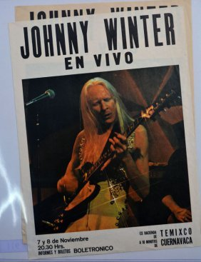 Poster: Johnny Winter En Vivo