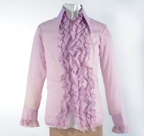 Johnny Winter's Lilac Button Down