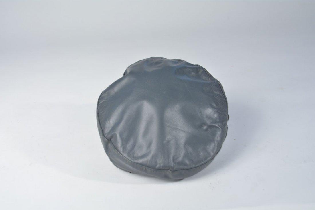 Johnny Winter's Gray Newsboy Cap - 3