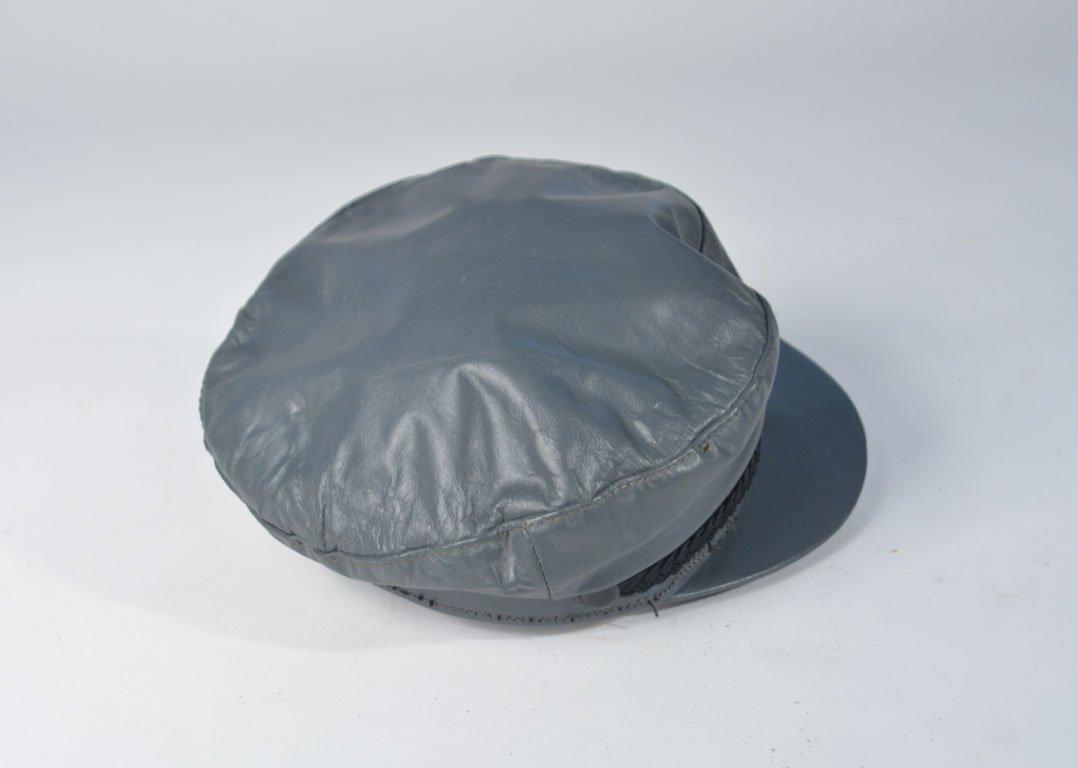 Johnny Winter's Gray Newsboy Cap - 4