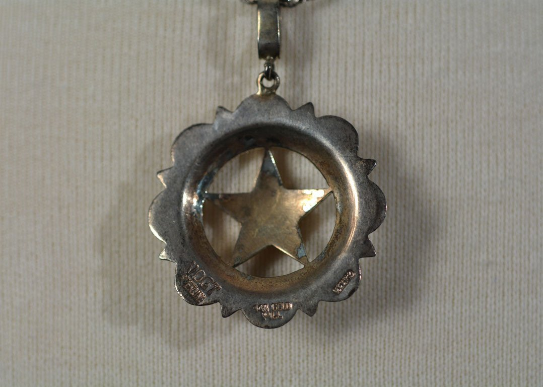 Johnny Winter's Lone Star Necklace - 3