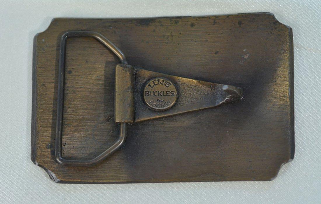 Johnny Winter's Steamboat Belt Buckle - 2