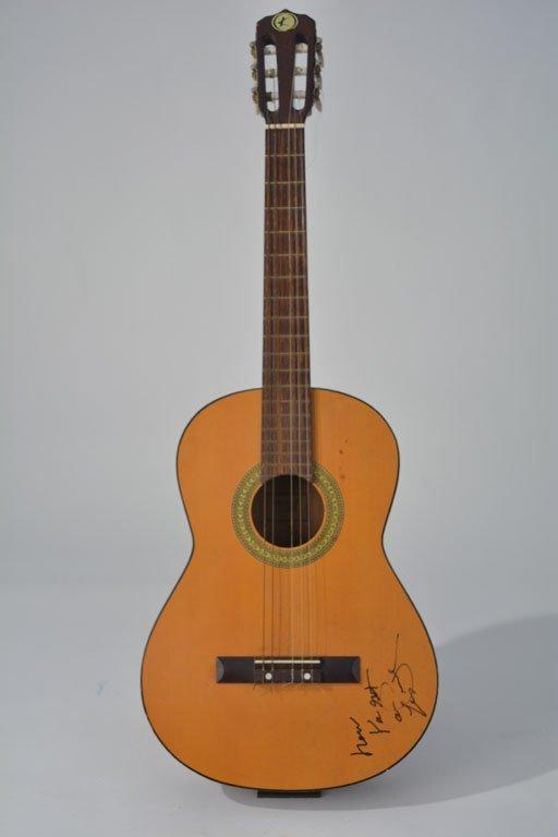 Les Paul Autographed Kay Acoustic Guitar