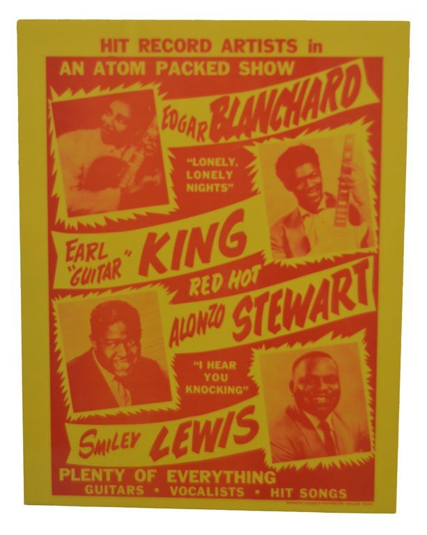 "Posters: ""An Atom Packed Show"" and ""The Bobby Bland - 2"