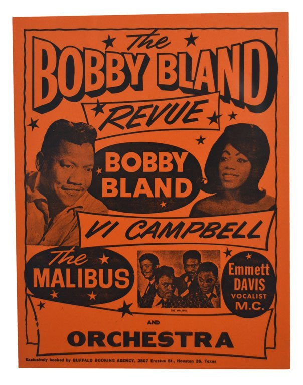 "Posters: ""An Atom Packed Show"" and ""The Bobby Bland - 3"