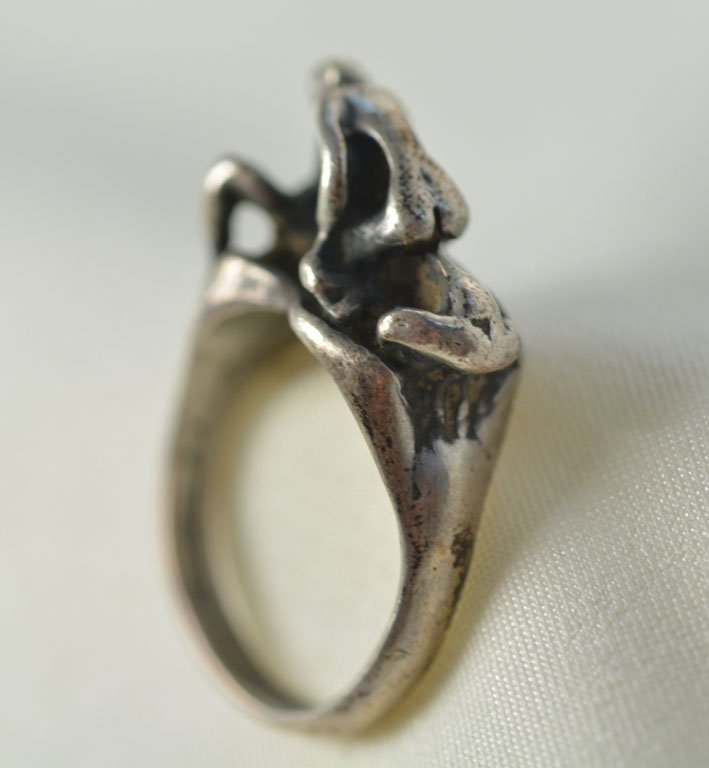 Johnny Winter's Erotic Silver Ring - 2
