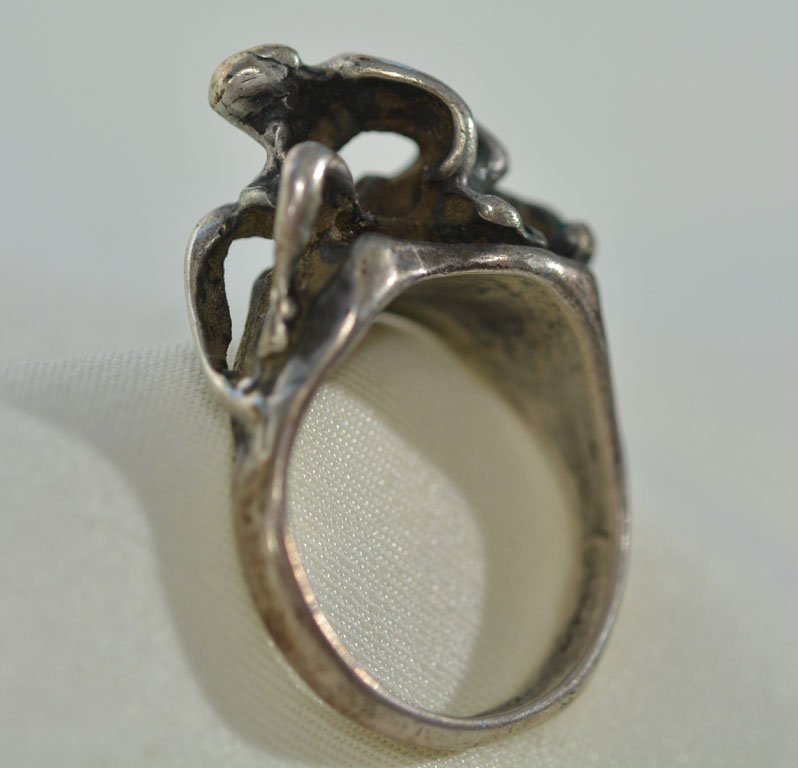 Johnny Winter's Erotic Silver Ring - 3