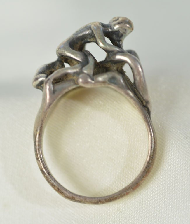 Johnny Winter's Erotic Silver Ring - 4