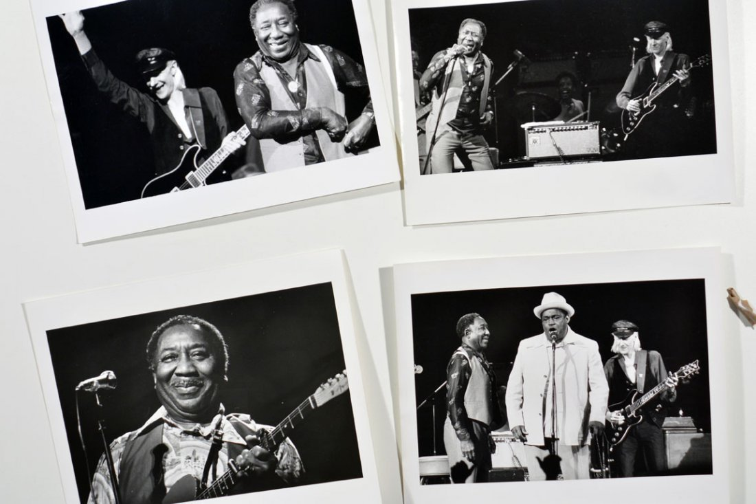Four Photos Featuring Muddy Waters